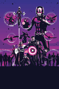 Avengers Endgame Movie Poster Art