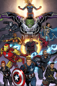 Avengers Endgame New Art