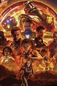1080x2280 Avengers Endgame New Poster 4k