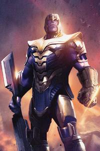 Avengers Endgame Thanos 4k