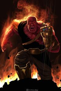 Avengers Endgame Thanos Infinity Gauntlet