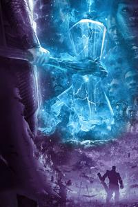 Avengers Endgame Thor Hammer Poster 4k