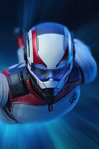 Avengers Endgame Tony Stark Team Suit 4k
