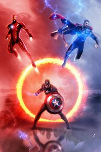 Avengers Endgame Trinity 4k