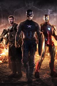 720x1280 Avengers Endgame Trinity