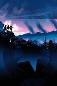 Avengers Endgame Trinity Against Thanos