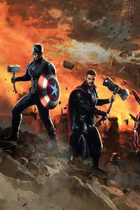 1280x2120 Avengers Endgame Trio