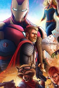 Avengers Endgame4k Art