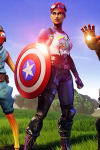 Avengers Fortnite X