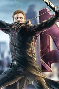 480x854 Avengers Hawkeye