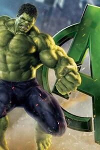 1280x2120 Avengers Hulk