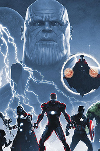 Avengers Infinity Saga 4k