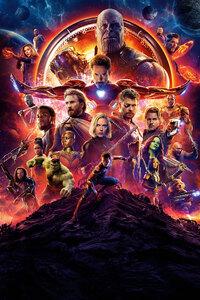 2160x3840 Avengers Infinity War 2018 10k Poster
