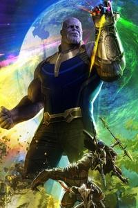 480x800 Avengers Infinity War 2018 4k