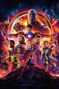 1080x2280 Avengers Infinity War 2018 5k
