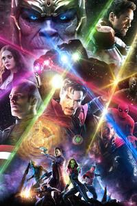 Avengers Infinity War 2018 Artwork HD