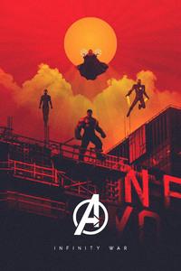 1125x2436 Avengers Infinity War 2018 Fan Made