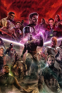 Avengers Infinity War 2018 Fan Made Art
