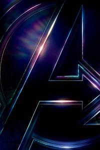 Avengers Infinity War 2018 Logo Poster