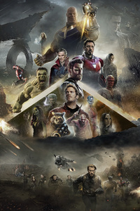 Avengers Infinity War 2018 Poster Fan Made