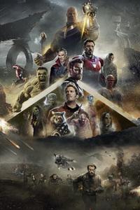 Avengers Infinity War 2018 Poster Fan Made