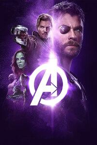 Avengers Infinity War 2018 Power Stone Poster 4k