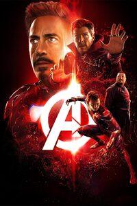 1125x2436 Avengers Infinity War 2018 Reality Stone Poster 4k