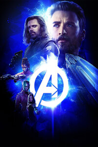 Avengers Infinity War 2018 Space Stone Poster 4k