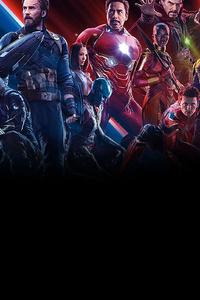 1280x2120 Avengers Infinity War 4k