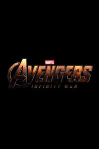 Avengers Infinity War 4k Logo