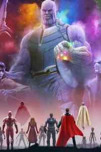 1080x2280 Avengers Infinity War 5k