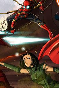 1080x2280 Avengers Infinity War 5k Team