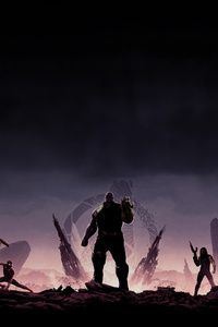 1080x2280 Avengers Infinity War 8k