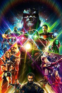 Avengers Infinity War Artwork 2018 HD