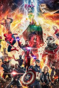 1080x2280 Avengers Infinity War Cosplay 4k