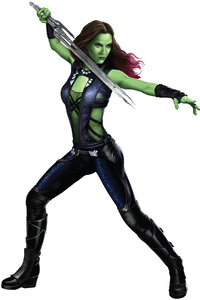 Avengers Infinity War Gamora 2018