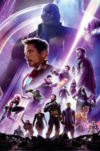 1125x2436 Avengers Infinity War HD Poster
