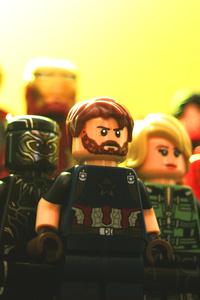 Avengers Infinity War Lego Art