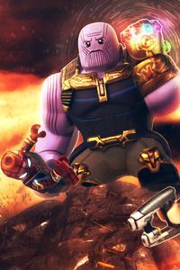 2160x3840 Avengers Infinity War Lego