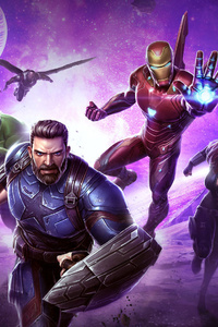 Avengers Infinity War Marvel Contest Of Champions 2018