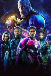 1280x2120 Avengers Infinity War