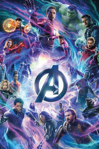 Avengers Infinity War Movie Bill Poster