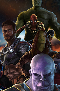 Avengers Infinity War New Artwork