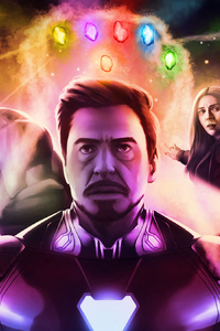 Avengers Infinity War Part One Art