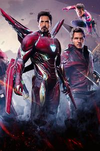 1125x2436 Avengers Infinity War Poster 2018