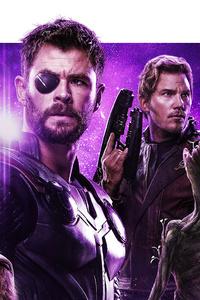 Avengers Infinity War Power Stone Poster