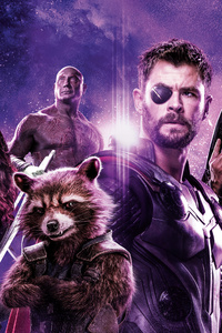 1280x2120 Avengers Infinity War Power Stone Poster 8k