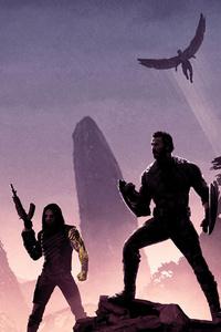 2160x3840 Avengers Infinity War Promotion Poster 4k