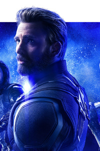 Avengers Infinity War Space Stone Poster