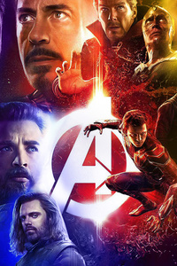 Avengers Infinity War Superheroes Poster
